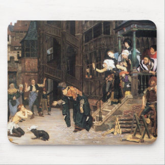 The return of the prodigal son by James Tissot Mouse Pad
