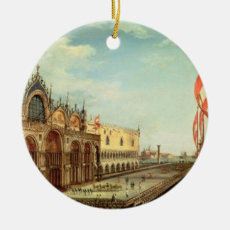 The Return of the St. Mark Troops to Venice Ceramic Ornament