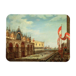 The Return of the St. Mark Troops to Venice Magnet