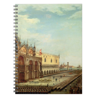 The Return of the St. Mark Troops to Venice Spiral Note Book
