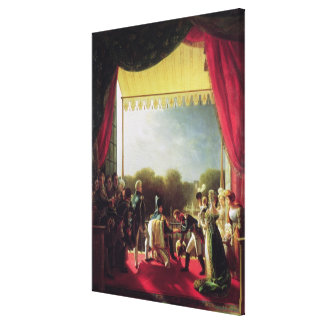 The Return of the Troops after the Spanish War Canvas Print