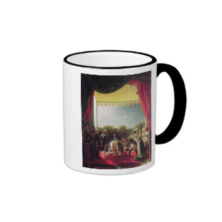The Return of the Troops after the Spanish War Ringer Mug