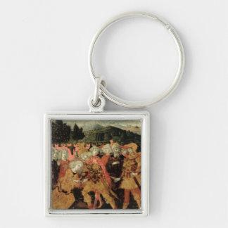 The Return of Ulysses, cassone panel, Sienese Keychain