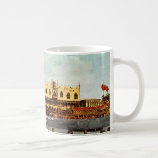 "The Return Of Venice ""Bucentaurus"" """" By Canaletto Coffee Mug"