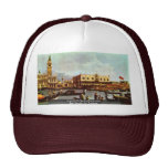 """The Return Of Venice """"Bucentaurus"""" """""""" By Canaletto Mesh Hats"""