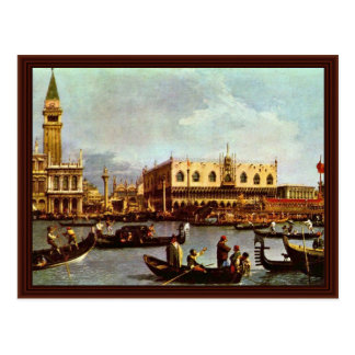 """The Return Of Venice """"Bucentaurus"""" """""""" By Canaletto Post Cards"""