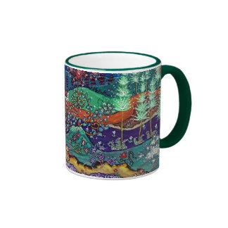 """""""The Return"""" Ringer Green Ringer Mug"""
