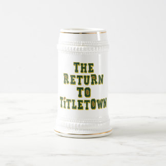 The Return To Titletown3 18 Oz Beer Stein
