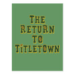 The Return To Titletown3 Postcard