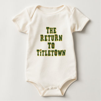 The Return To Titletown3 Rompers