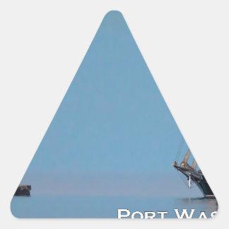 The Return Triangle Sticker