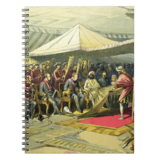 The Return Visit of the Viceroy to the Maharajah o Notebooks