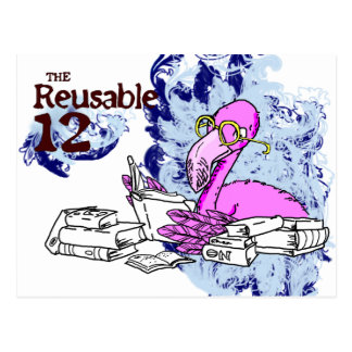 The Reusable 12 Postcard