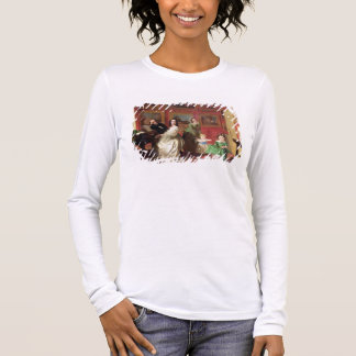 The Rev. and Mrs Palmer-Lovell with their daughter Long Sleeve T-Shirt