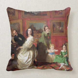 The Rev. and Mrs Palmer-Lovell with their daughter Pillows