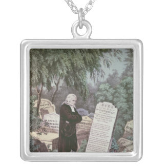 The Rev. John Wesley visiting his mother's grave Jewelry