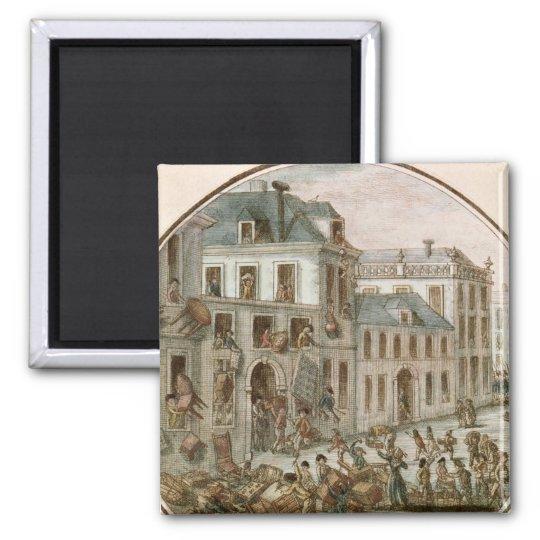The Reveillon Riot of April, 1789 Magnet