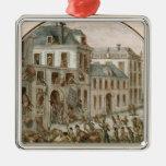 The Reveillon Riot of April, 1789 Metal Ornament