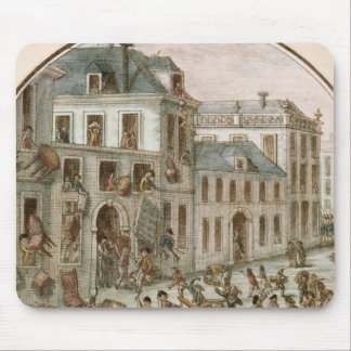 The Reveillon Riot of April, 1789 Mouse Pad