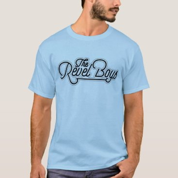 Beach Themed The Revel Boys - Original Logo Tee