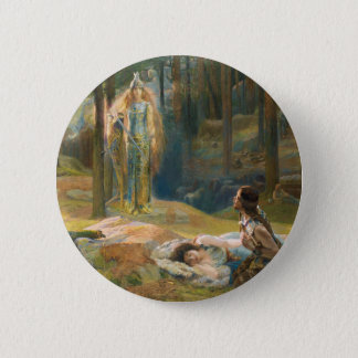 The Revelation Brunhilde Pinback Button