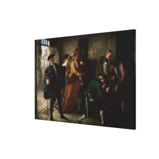 The Revolt of Esquilache Gallery Wrapped Canvas