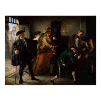 The Revolt of Esquilache Postcard