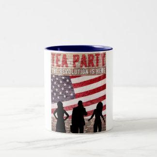 The Revolution Is Here Two-Tone Coffee Mug