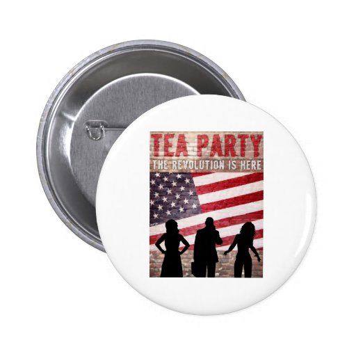 The Revolution Is Here Pin