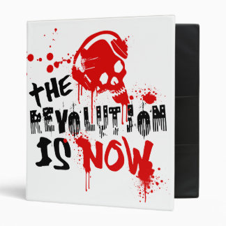 The Revolution Is Now 3 Ring Binder