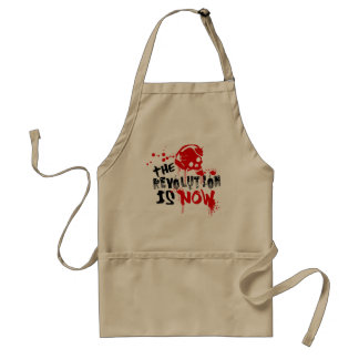 The Revolution Is Now Adult Apron