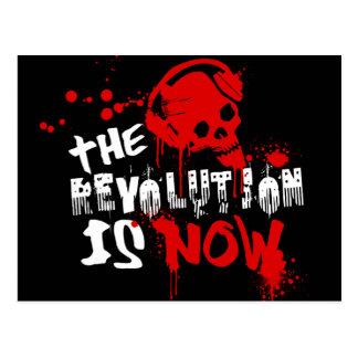 The Revolution Is Now Postcard
