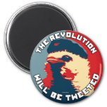 The Revolution will be Tweeted Fridge Magnets