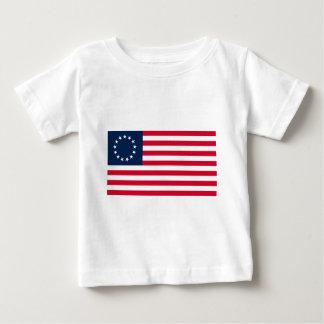 The Revolutionary War Betsy Ross Flag Baby T-Shirt