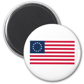 The Revolutionary War Betsy Ross Flag Magnet