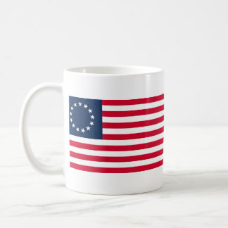 The Revolutionary War Betsy Ross Flag Classic White Coffee Mug