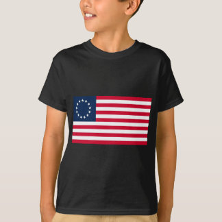 The Revolutionary War Betsy Ross Flag T-Shirt