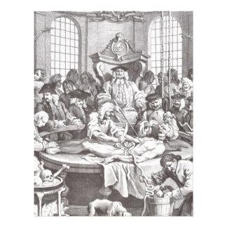 The Reward of Cruelty by William Hogarth Letterhead