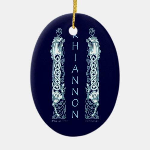 The Rhiannon Horse Celtic Ornament