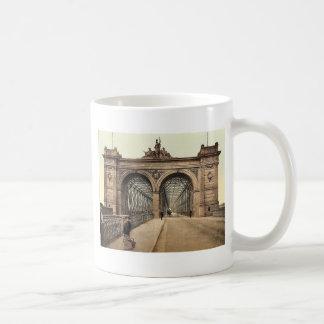 The Rhine Bridge, Mannheim, Baden, Germany rare Ph Classic White Coffee Mug