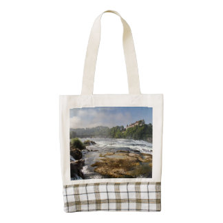 The Rhine Falls Zazzle HEART Tote Bag