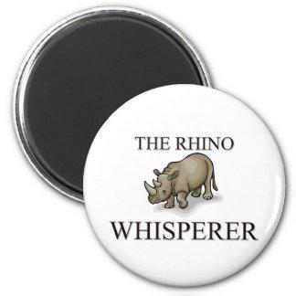 The Rhino Whisperer Magnet