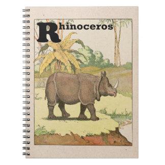 The Rhinoceros Storybook Spiral Notebooks