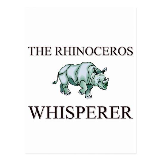 The Rhinoceros Whisperer Postcard