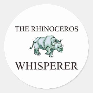 The Rhinoceros Whisperer Sticker