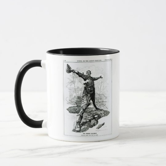 The Rhodes Colossus from Punch Mug