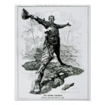 The Rhodes Colossus from Punch Print