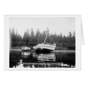 The Rhododendron on Quillayute River Greeting Card