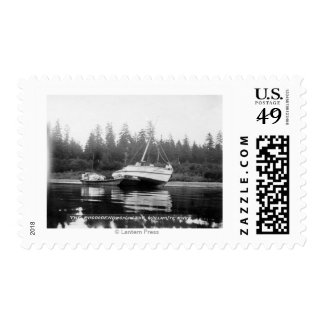 The Rhododendron on Quillayute River Stamps