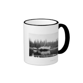 The Rhododendron on Quillayute River Ringer Mug